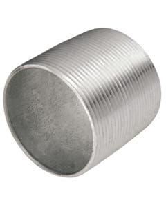 Niple Galvanizado Ced 40 Cuerda Corrida 38mm 1 1/2 Arxflux