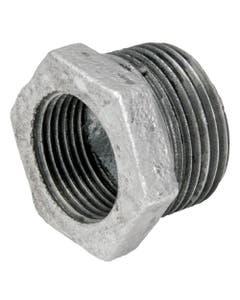 Reduccion Bushing Galvanizado Ced 40 25-13mm 1 X 1/2 Arxflux