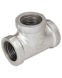 Tee Sencilla Galvanizada Ced 40 19mm 3/4 Arxflux