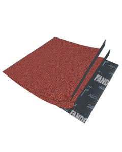 Lija De Esmeril Oxido De Aluminio Roja G080 Fajilla 50pz X-86 Fandeli 00073