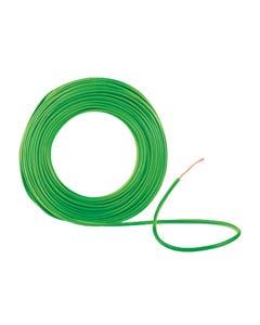 Cable Cobre Thhw-ls #10 Awg 600v 105° Verde 100mts Iusa