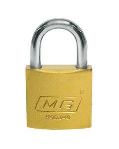 Candado De Seguridad Gancho Corto Hierro 40mm Llave Trad. Austral Mg 40 206163