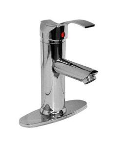 Mezcladora Monomando Tubular Corta P/lavabo 23mtc