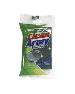 Fibra Esponja Verde 3 X 4 0152 Clean Army Fandeli