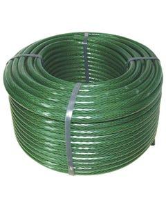 Manguera Tramada Verde P/agua 19mm 3/4 X100m Arx
