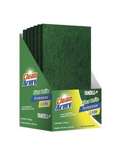 Fibra Verde Profesional 6 X 9 Ca96 Clean Army 72939 Fandeli