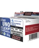 Adhesivo Epoxico Uno Clear Uso General 98grs Unoc40 Fusion