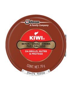 Grasa Crema Para Calzado Cafe 70grs Kiwi 646847 Sc Jhonson