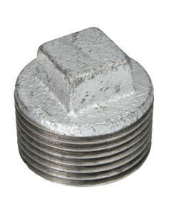 Tapon Macho Galvanizado Ced 40 19mm 3/4 Arxflux