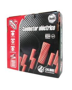 Cable Cobre Thhw-ls # 8 Awg 600v 105° Negro 100mts Iusa