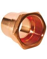 Conector Rca Int Cobre 13mm 1/2 Gen
